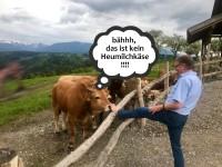 Einladung auf die Schönegger Käsealm (Heublumenpolka)